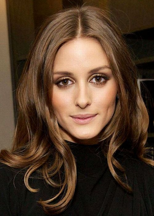 50 Best Brown Hair Color Ideas for 2014 | herinterest.com33. Olivia Palermo Brown Hair Color Idea: Light almond brown