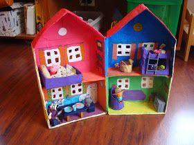 DIY Peppa Pig Doll House: La casa de Peppa Pig