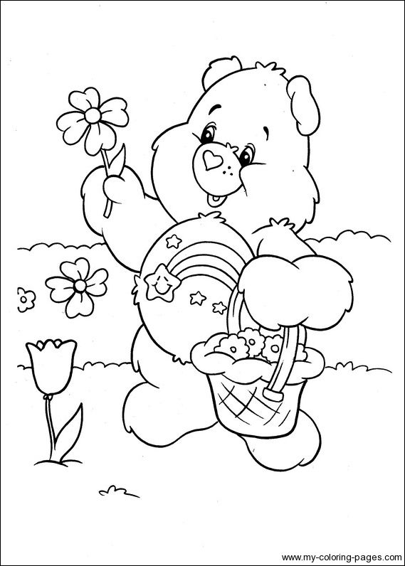 See More Care Bears Coloring 079
