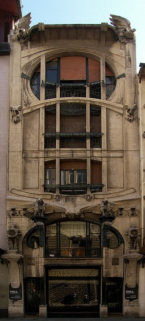 Casa Galleria/ Liberty Palace. 1911. Florence, Italy. Art Nouveau. Florentine architect Giovanni Michelazzi