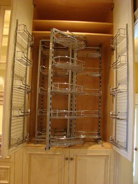 Cool rack system for a pantry cabinet.