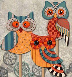 Steampunk Owls Download