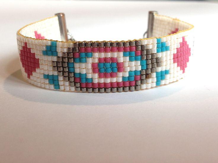 Ich freue mich, den jüngsten Neuzugang in meinem #etsy-Shop vorzustellen: Indian Winter #schmuck #armband