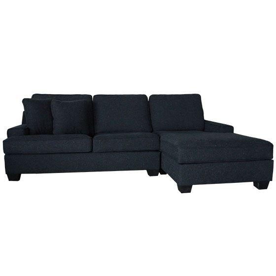 Sectionnel - SOHO - Rodi - Laval / Longueuil - Dynamique et actuel. Disponible en sofa ou causeuse. Recouvrement texturé résistant. Grand confort et dimensions compactes.