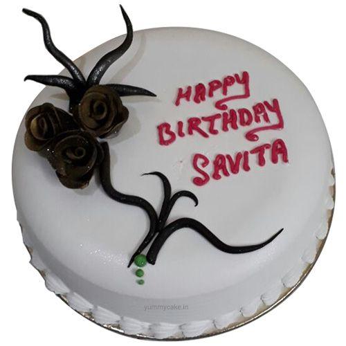 Book your birthday cake online from #Yummycake #BirthdayCakeOnline visit http://yummycake.in/product/birthday-cake-online/
