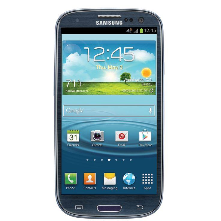 Black Samsung S3.