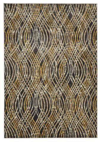 Alias Flurry Modern Charcoal Rug
