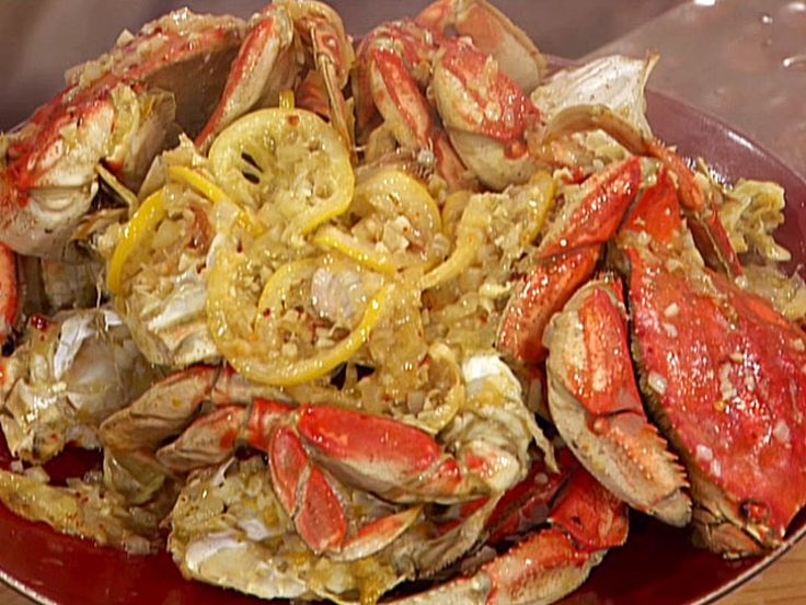 Get this all-star, easy-to-follow Garlic and Chile Roasted Dungeness Crabs recipe from Emeril Lagasse