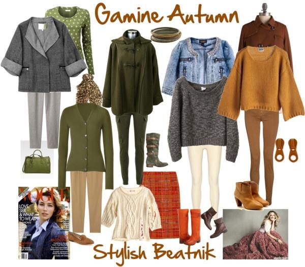"""""""Stylish Beatnik, Gamine Autumn"""" by jeaninebyers ❤ liked on Polyvore"""