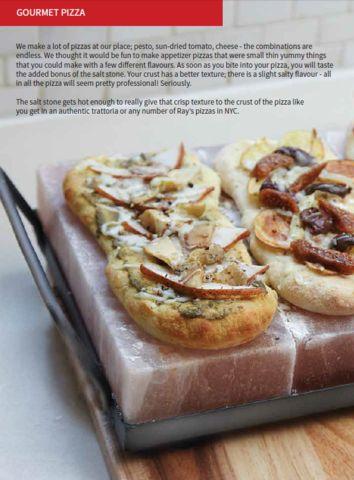 Himalayan Salt Stone Pizza Recipe!
