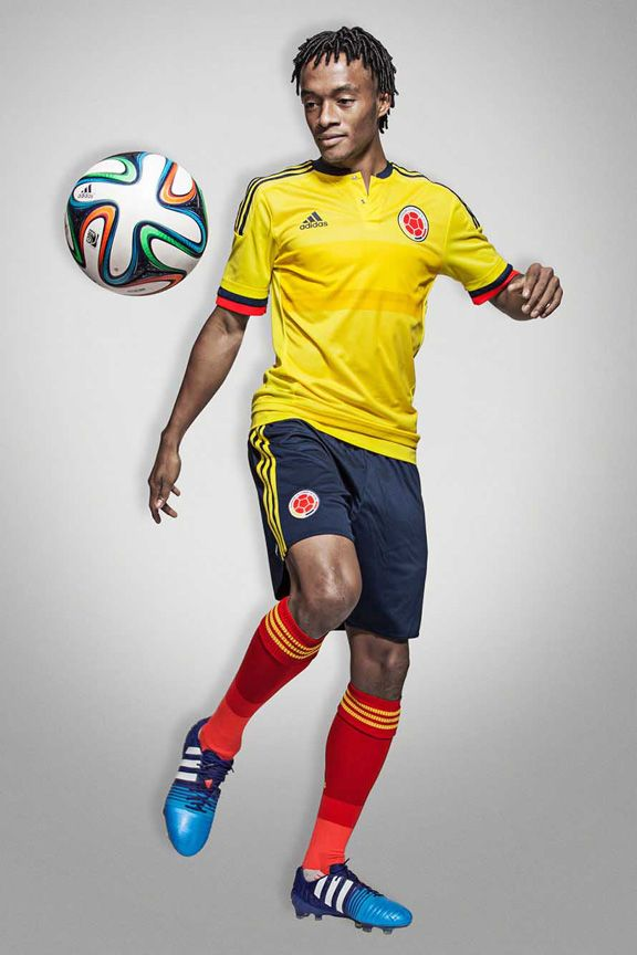 adidas Colombia Soccer Jersey (Home 2015/16) @ SoccerEvolution.com Soccer Store