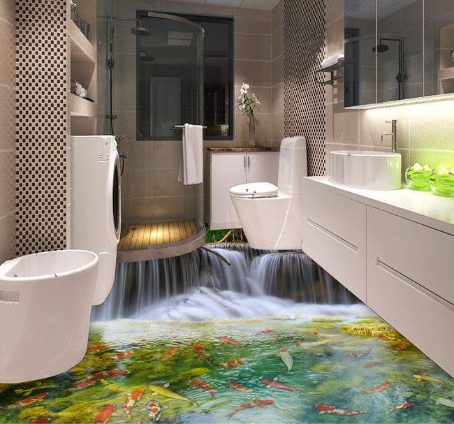 1000 id es sur le th me revetement mural pvc sur pinterest lambris carrela - Revetement mural salle de bain leroy merlin ...