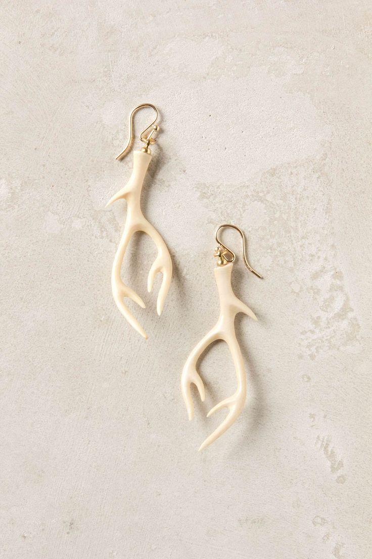 12 best deer antler earrings/jewelry images on pinterest