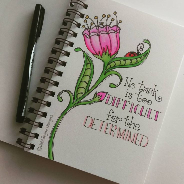 Be determined!!! #watercolors