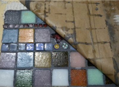 Learn how to create a mosaic using the indirect method of mosaics. Get step by step. instructions.  Learn how to mosaic @ www.themosaicstore.com.au