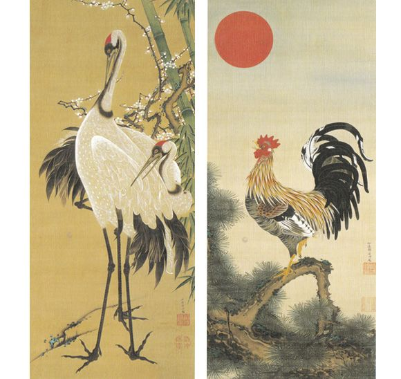 竹と蒔絵で伊藤若冲をやってみたい・・・ | It Art! …