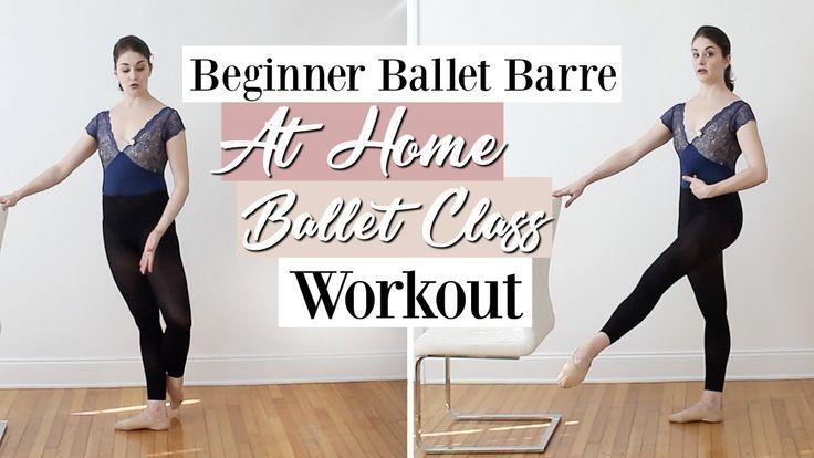 Beginner ballet barre at home ballet class workout