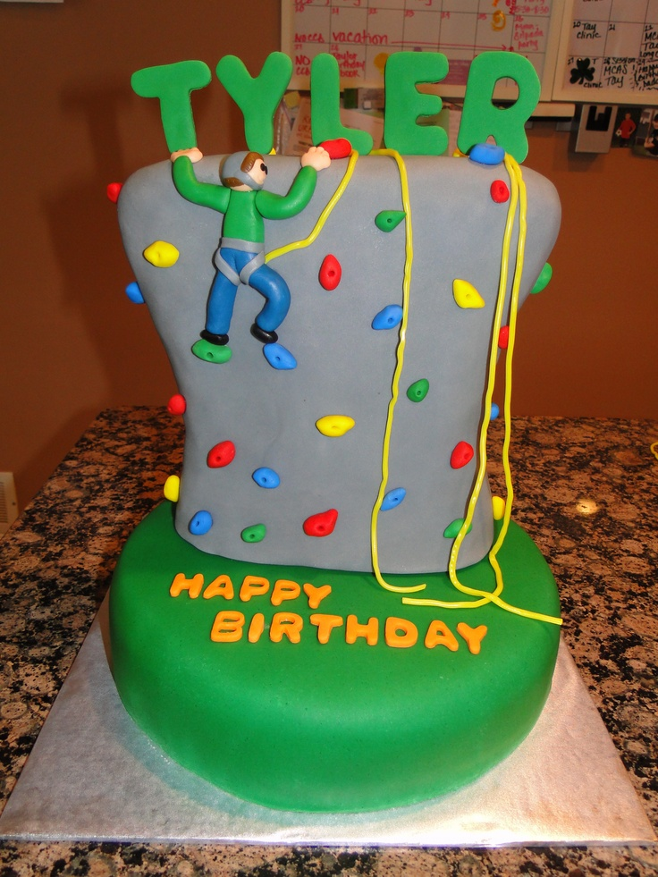 Rock Climbing Cake Cake Ideas and Designs