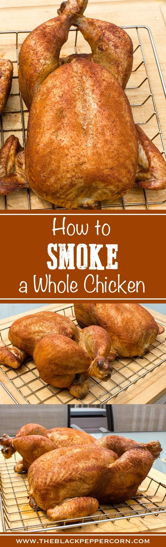 How to Smoke a Whole Chicken - in the Bradley Electric Smoker