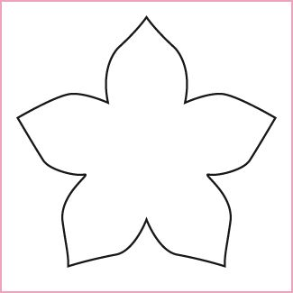 paper cut out templates flowers - 50 best mallen voor bloemen images on pinterest flower
