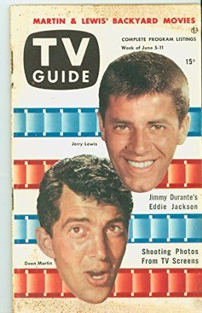 1953 TV Guide Jun 5 Dean Martin and Jerry Lewis - Chicago Edition NO MAILING LABEL Good to Very Good (2 1/2 out of 10) Well Used by Mickeys Pubs, 2016 Amazon Top Rated Magazines  #Collectibles