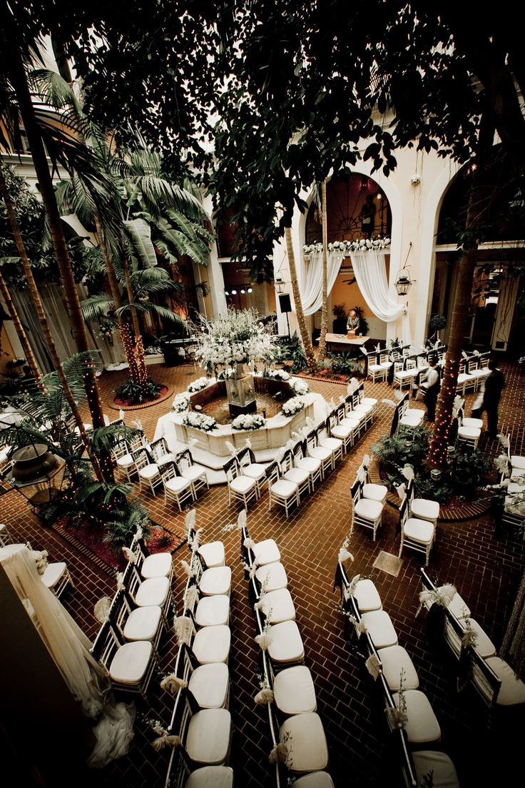 Saint Louis Hotel courtyard - NOLA:  we were married here on the hottest day of the year 2010!!