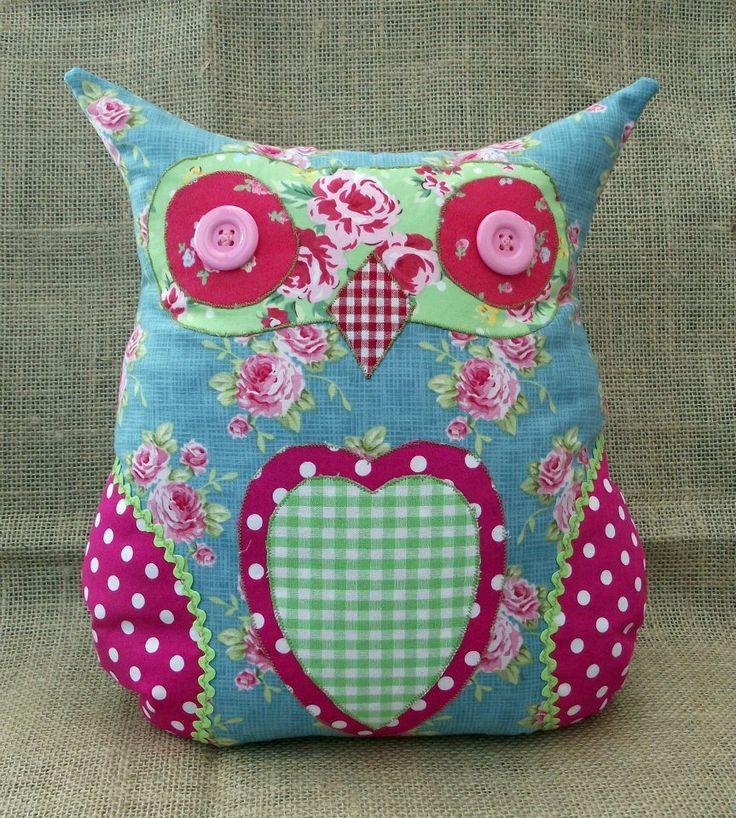 Handmade in Norfolk Owl Door Stop £12.00