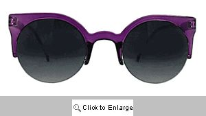 Coquette Cat Eye Sunglasses - 279 Purple