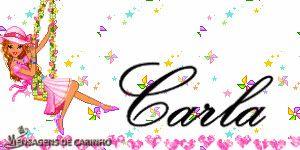 MUITO LINDO: CARLA