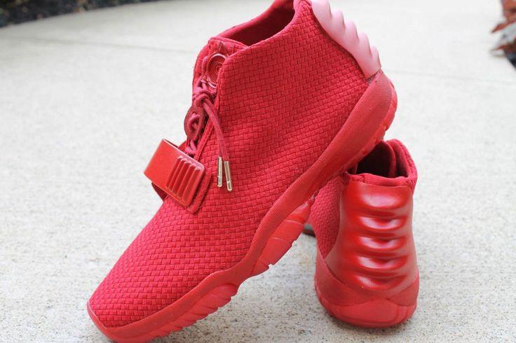 Red Joctober Future Air Jordan Future x Nike Air Yeezy 2 'Red October' by Aristat26