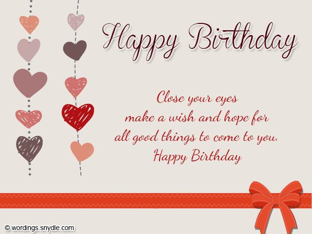 17 Best images about Happy Birthday Wishes – Happy Birthday Card What to Write