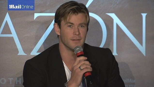 Chris Hemsworth talks about his massive weight loss for his new film - 'In The Heart Of The Sea'