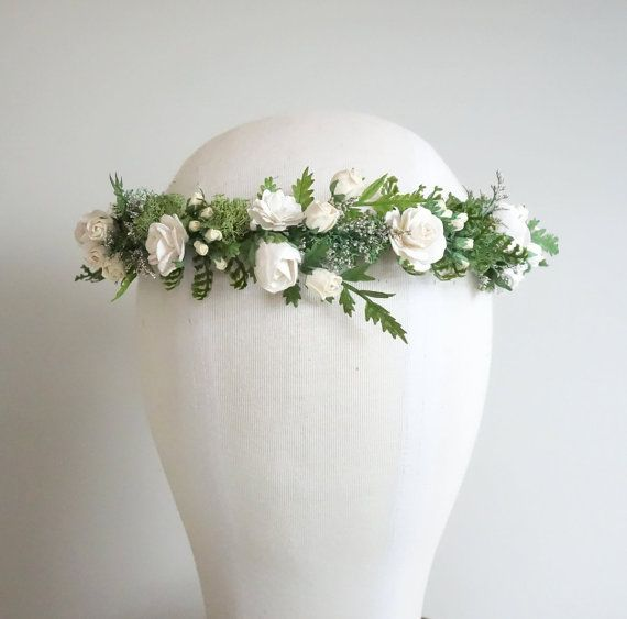 400 best Wianek pierwsza Komunia images on Pinterest | Floral crowns ...