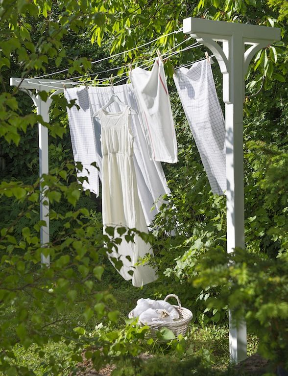 Hanging on the clothesline