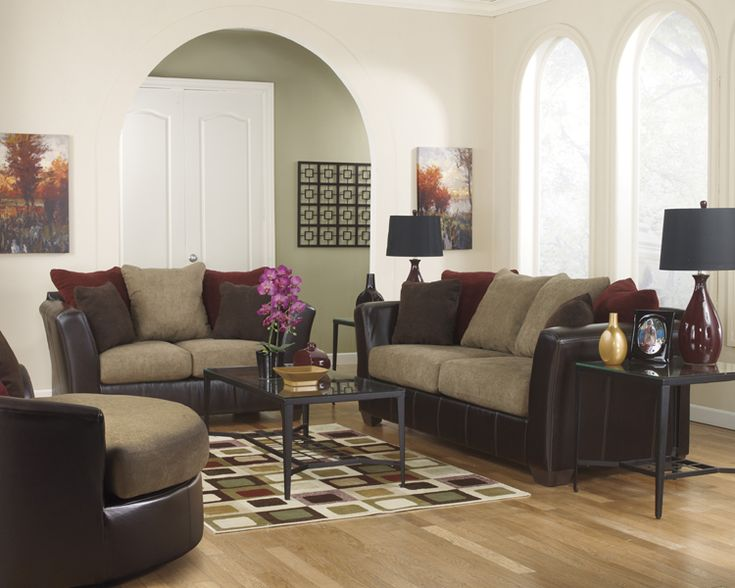 Liberty Lagana Furniture In Meriden Ct The Sanya Mocha Living Room Collection By Ashley