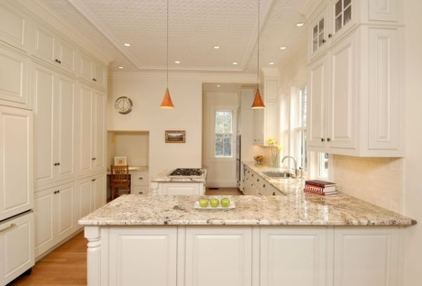 Maybe we can add the glass top cabinets to the existing ones rather than replacing with cabinets that run to the ceiling...this could save money...