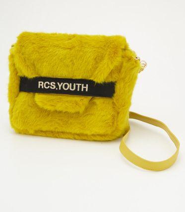 RCS YOUTH フェイクファーバッグ