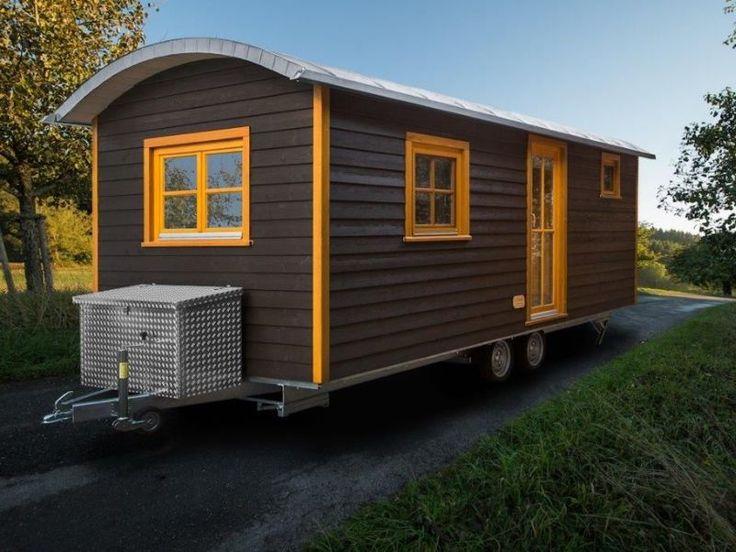 8 besten bauwagen bilder auf pinterest kleine h user bauwagen und wohnwagen. Black Bedroom Furniture Sets. Home Design Ideas