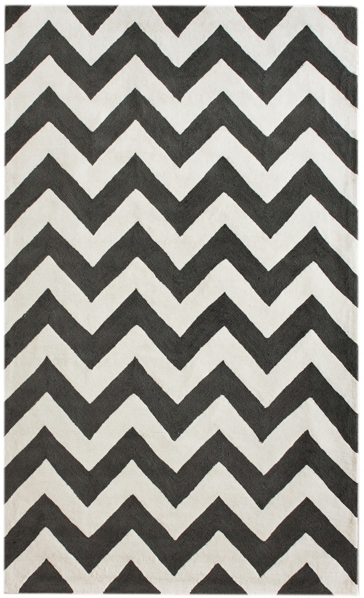 best rugs images on pinterest  area rugs contemporary rugs  - nuloom marrakesh meridian chevron black rug