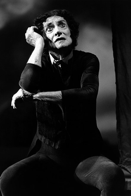 "Marcel Marceau, 84, (1923 - 2007) For 50 years, he acted out the entire spectrum of human emotions, touring tirelessly with his mime character, Bip. A French Jew, he escaped deportation and worked in the French Resistance. He said Charlie Chaplin was his greatest influence. He also was famously chatty offstage. ""Never get a mime talking; he won't stop,"" he once said. Of his chosen art, he said: ""Do not the most moving moments of our lives find us without words?"""