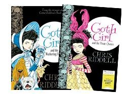 Incredible author Chris Riddell will be joining the Open Book festival happening in Cape Town. We love him so much! So we thought we'd give all the Goth Girl fans out there a chance to complete their collections and get the latest Goth Girl book + the super special World Book Day Ada adventure he created!