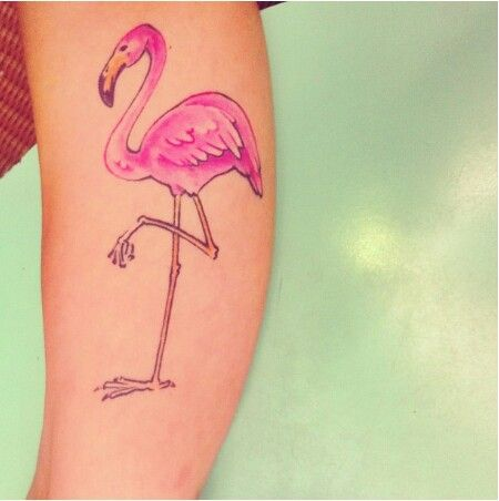 257 best images about tattoos on pinterest for Pink flamingo tattoo