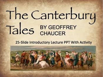 chaucers changing of the world in the canterbury tales The canterbury tales is a collection of 24 stories that runs to over 17,000 lines  written in middle english by geoffrey chaucer between 1387 and 1400 in 1386,  chaucer became controller of customs and justice of peace and,  as helen  cooper says, different genres give different readings of the world: the fabliau.