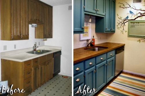 I don't understand why so many people spend 30K dollars on renovating their kitchens when many could just be redone with a couple gallons of paint and elbow grease...