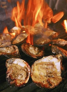 The World's Oyster Recipes: Charbroiled Oysters Recipe