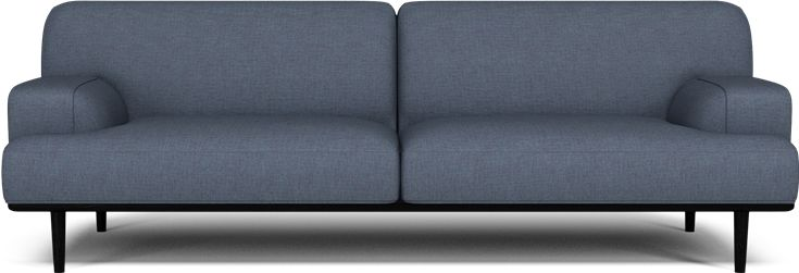 Sofa? Bolia Madison 3seter Blue (men med eikesokkel)