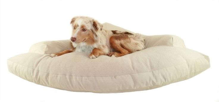 Features:  -Bed Material: Cotton.  -Superior loft and shape retention.  -Removable cover.  -Great choice for large breeds.  -Made in the USA.  Bed Material: -Cotton.  Country of Manufacture: -United S
