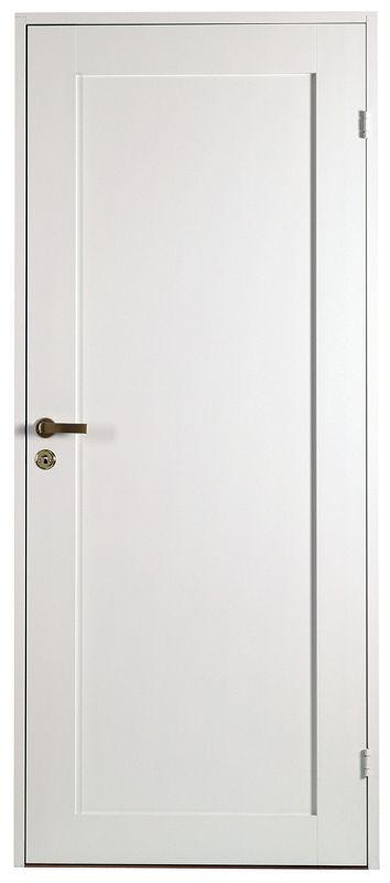 Innerdörr Contur vit - Köp nya innerdörrar hos MinDörr.se M7x21 (625x2040mm) 980 kr