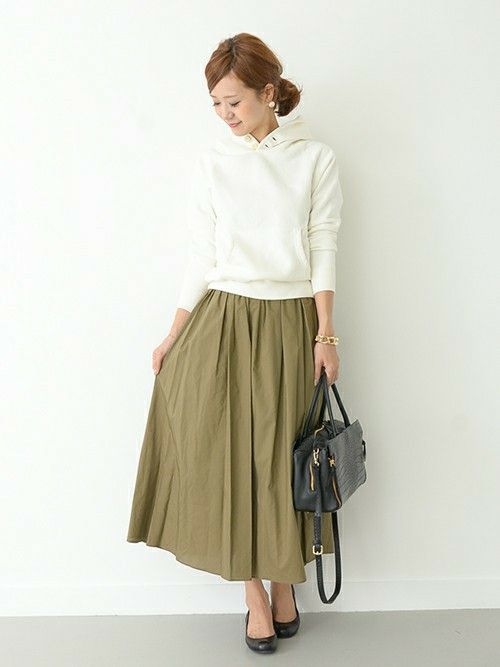 URBAN RESEARCH DOORS|DOORS WOMENSさんのスカートを使ったコーディネート - ZOZOTOWN