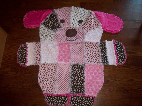 rag quilt animal shape: Puppy Dogs, Puppies Dogs, Rag Quilts, Dogs Rag, Baby Blankets, Adorable Baby, Puppies Blankets, Quilts Baby, 1 Quilts Sewing Appliques